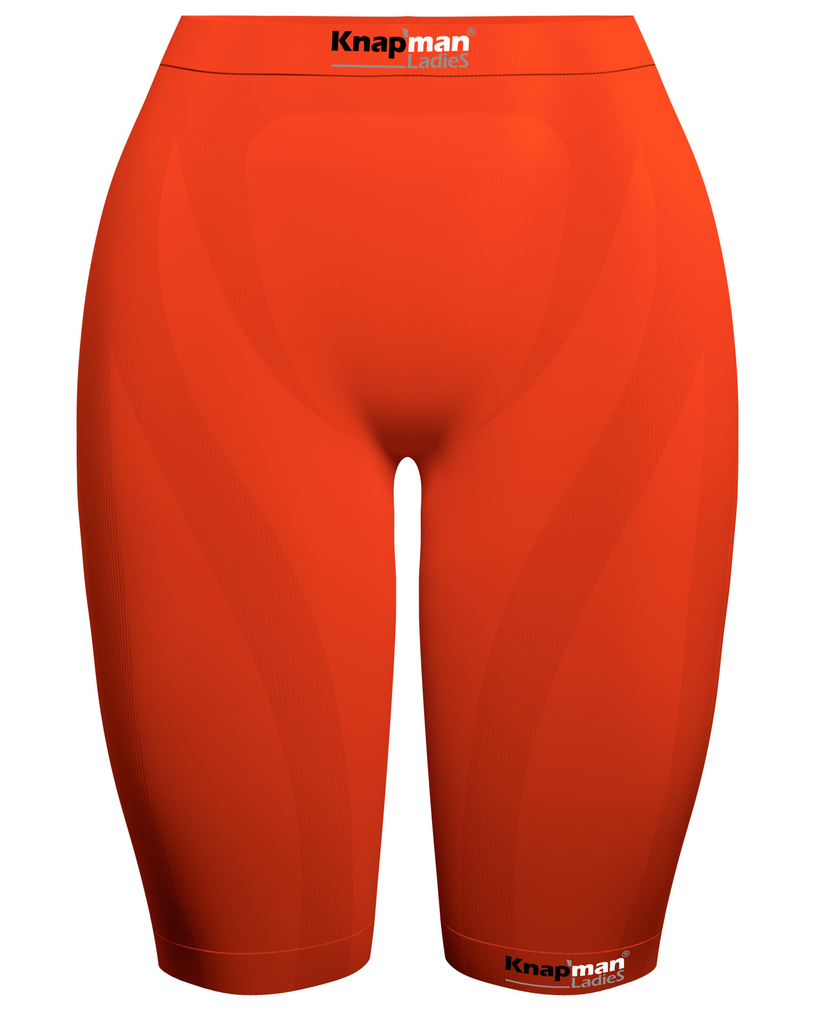 Knap'man Damen Kompressionsshorts 45% Orange