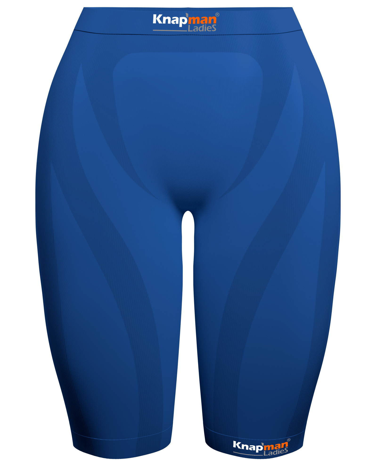 Knap'man Damen Kompressionsshorts 45% Royal blue