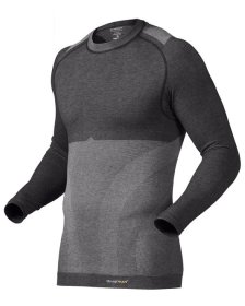 Knap'man Damen Kompressionsshirt Wool