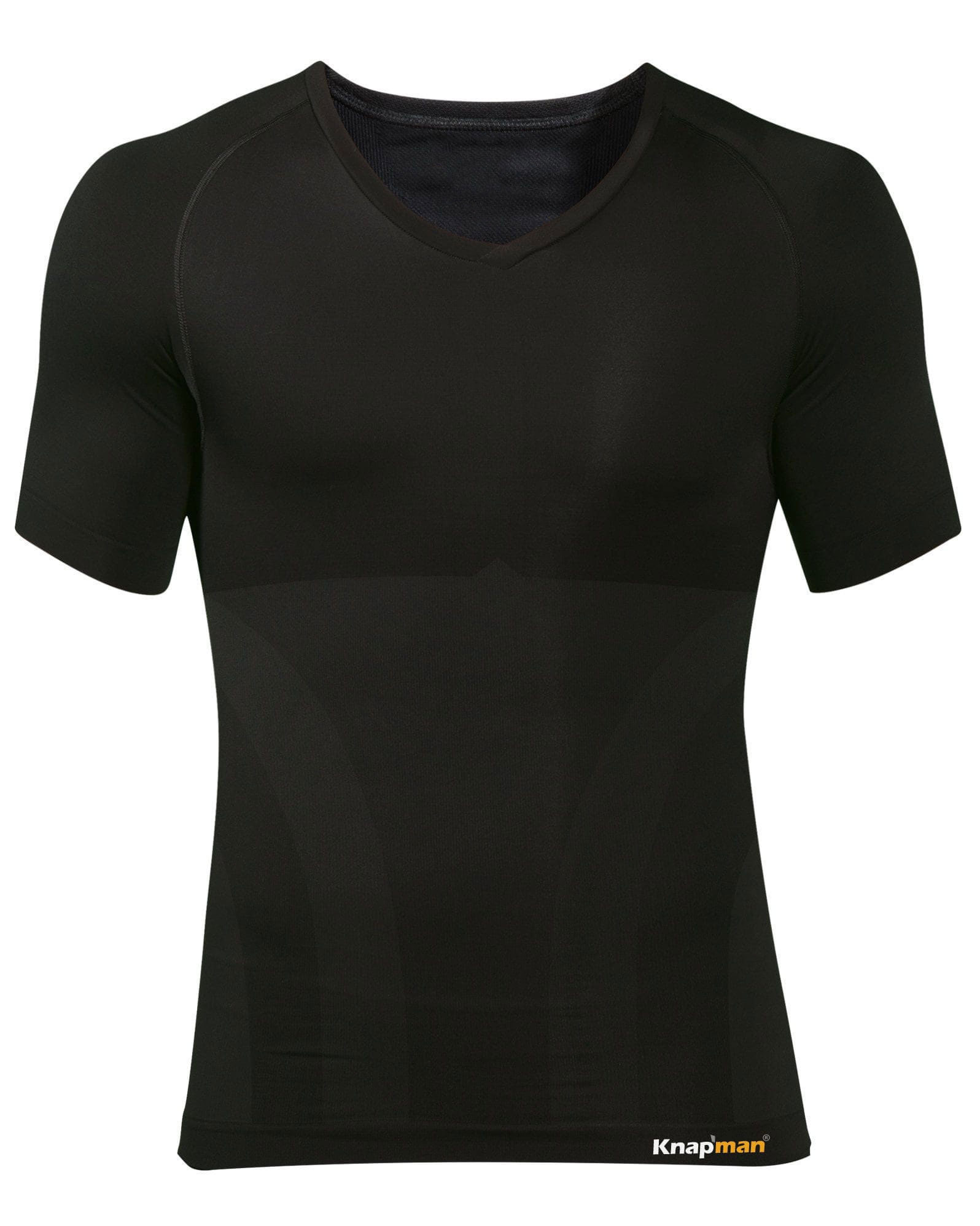 Knap'man Zoned Cotton Comfort shirt schwarz