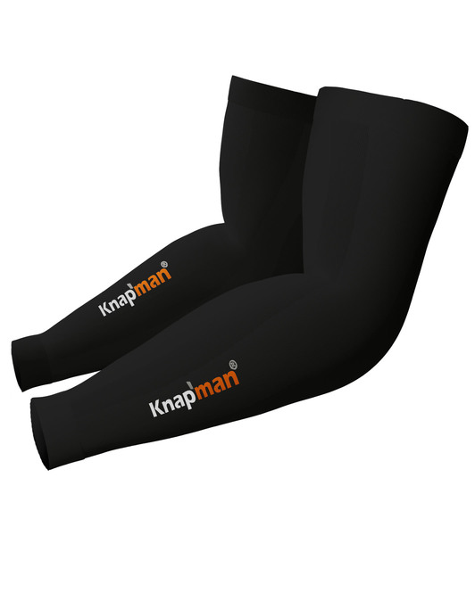Knap'man Zoned Compression Arm Sleeves 45% schwarz