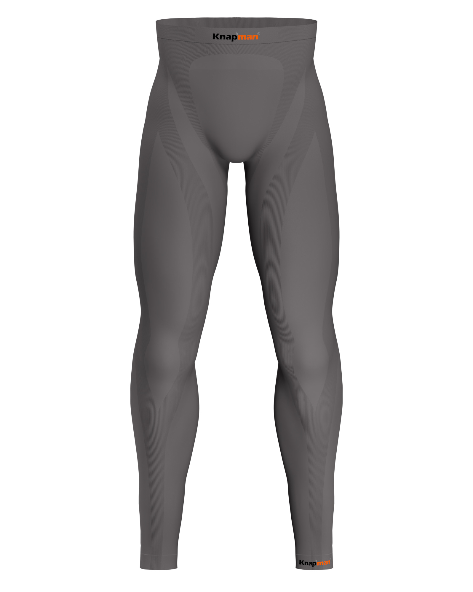 Knap'man Herren Kompression Tights 45% Grau