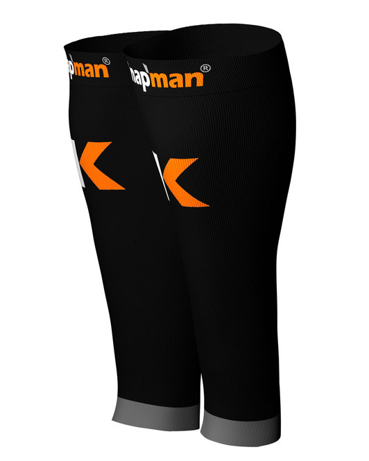 Knap'man Damen Active Strong Kompressions Calf Sleeves schwarz